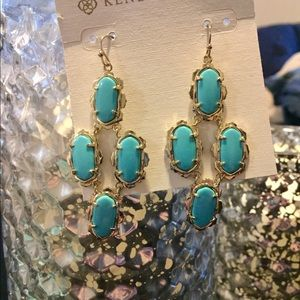 Turquoise Kendra Scott